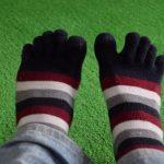 足先の冷え対策に「5本指ソックス健康法」